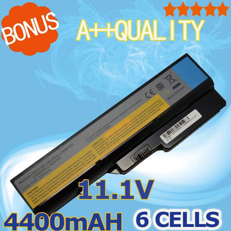4400mAH Laptop Battery LO9S6Y02 57Y6454 For Lenovo IdeaPad G460 G470 G770 G780 G565 B470 B457 K47 V470 b570 V370 Z370 Z460 G560