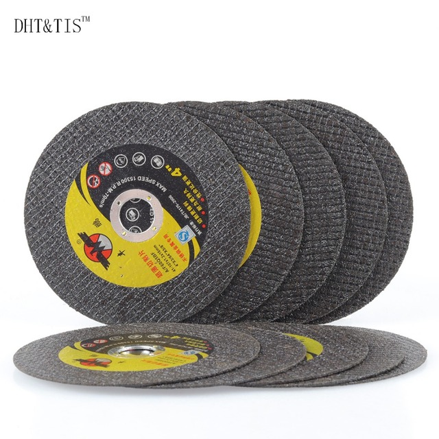 """DHT & TIS 10 cái 4 """"Resin Cắt Slice Mài Disc cho Thép Không Gỉ và Góc Bằng Kim Loại Công Cụ Máy Xay"""