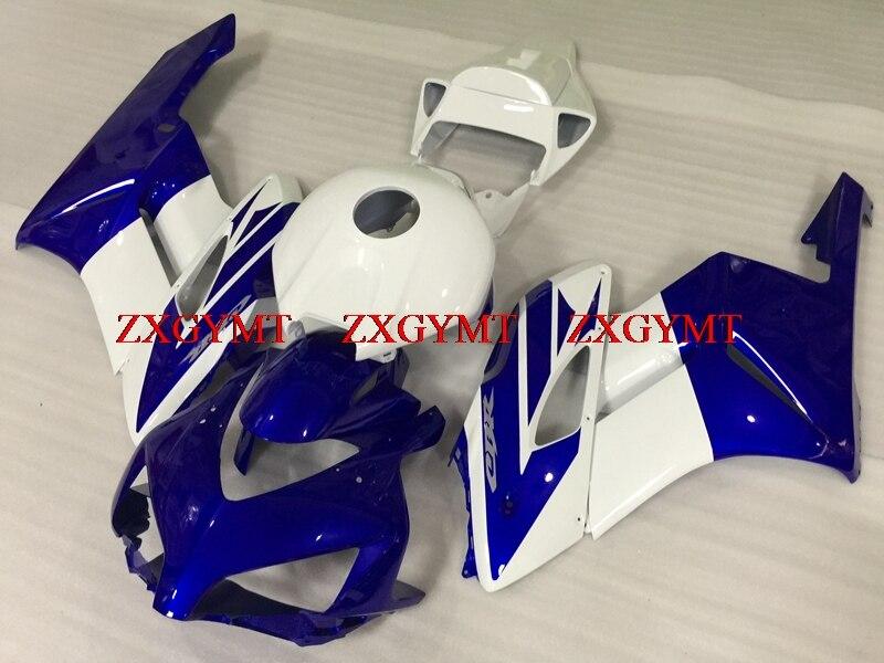 Bodywork for Fireblade 2004 - 2005 Fairing Kits CBR1000 RR 2005 White Blue Body Kits CBR1000RR 2005Bodywork for Fireblade 2004 - 2005 Fairing Kits CBR1000 RR 2005 White Blue Body Kits CBR1000RR 2005
