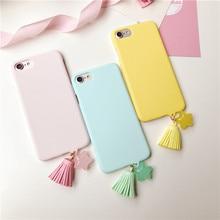 Tassel Plastic Phone Cases for iphone