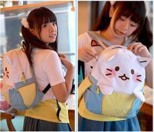 Банан рюкзак милый кот Школьные рюкзаки забавные качество искусственная кожа и холст модные женские туфли Сумка дорожная Back Pack