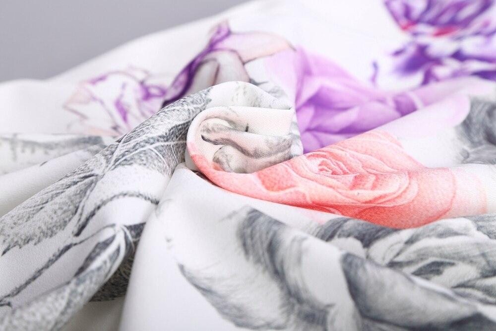 Acuarela bosquejos florales impresión mujeres vestido tubo Sexy ...