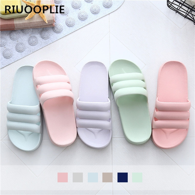RIUOOPLIE Fashion Home Indoor Slippers Lovers Indoor Slippers for Men and Women In Bathroom Sandals Wholesale Christmas Gift