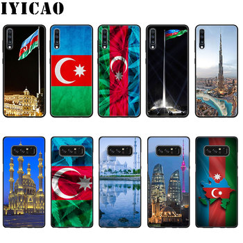 IYICAO Azerbaijan buta bandiera Cassa Molle Del Silicone per Samsung Galaxy A70 A50 A40 A30 A10 M10 M20 M30 Nota 8 cassa del telefono 9