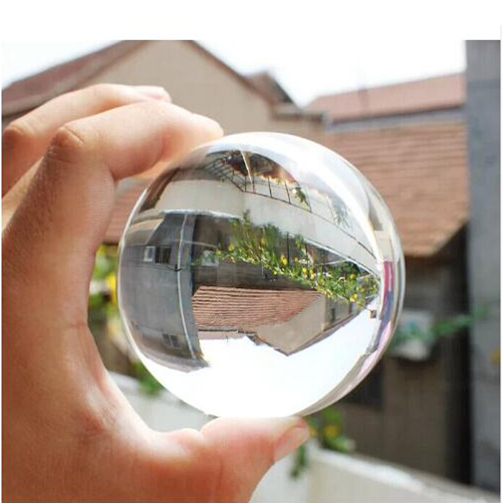 King Magic Kontakt Juggling Ball 70MM 100% Akryl Transparent Crystal Ball Stage Ball Magic Tricks för Magicians 1Pcs Kids Toy