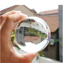 King Magic Contact Juggling Ball 70MM 100% Acrylic Transparent Crystal Ball Stage Ball Magic Tricks for Magicians 1Pcs Kids Toy