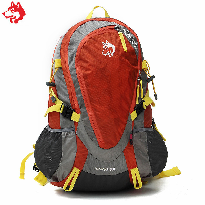 30L outdoor camping hiking backpack china quality Red/Yellow/Green adventure sport male & female climbing mountaineering bag wissblue professional climbing backpack camping outdoor backpack cr carrying system hiking gear trekking travel sport backpack