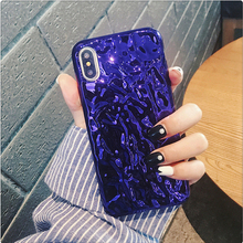 Ritozcase Purple Plating Foil Pattern Cell Phone Case for iphone 7 8 plus X Soft silicon back Cover cases for iphone 6 6s plus stylish floral pattern front back decorative sticker set for iphone 6 4 7 purple green