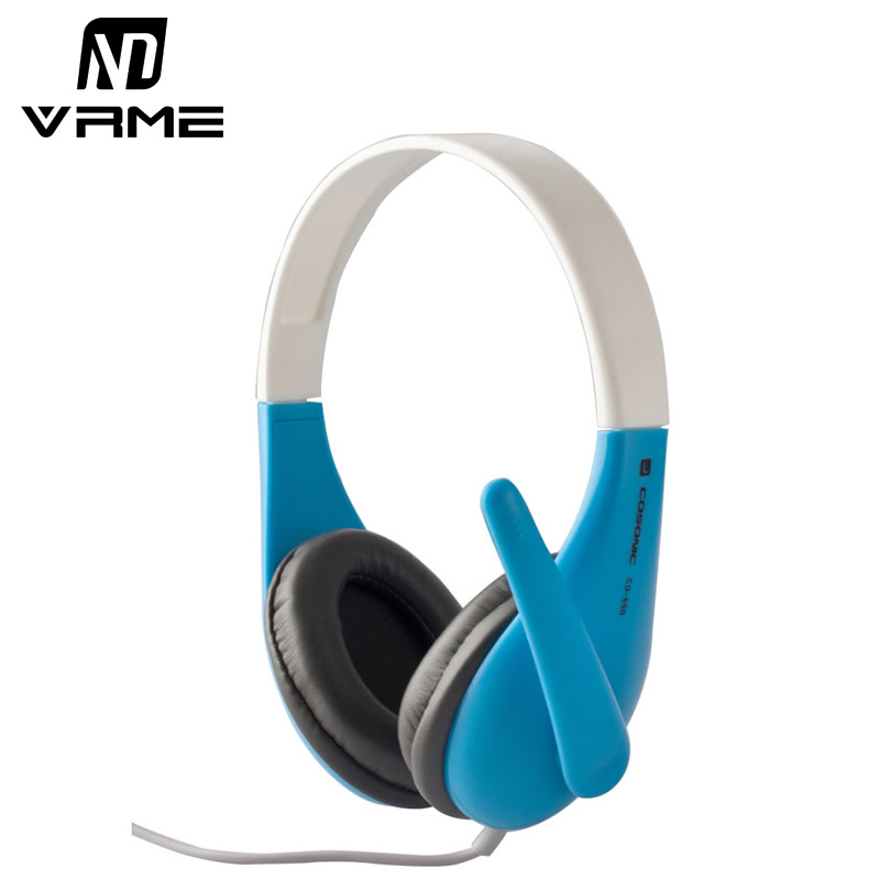Vrme Portable Headphones Game Headset for PS4 PC Stereo Bass Earphone with Mic Microphone 3.5mm jack Wired Music