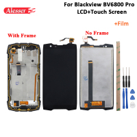 Alesser For Blackview BV6800 Pro LCD Display And Touch Screen +Frame +Film +Tools And Adhesive For Blackview BV6800 Pro 5.7''