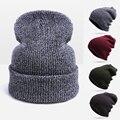 Hot Sales Fashion Unisex Warm Winter Hat For Women Skullies Beanies Men Hat Cap Woman Beanies Touca Cap Drop Shipping