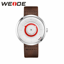 цена на WEIDE 2019 Hot Sale PU strap Band Top Brand Luxury watch quartz sport men fashion & casual Automatic Self-Wind Business Clock