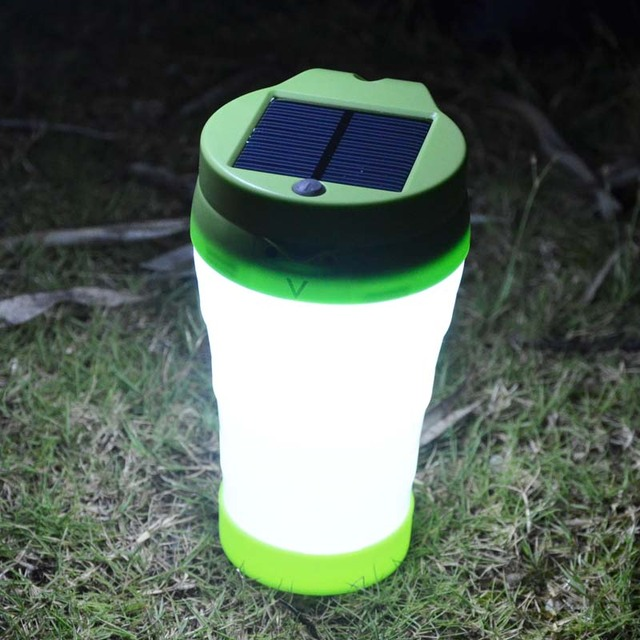 Water Bottle Amp Led Solar Light 2 In 1 Portable Camping