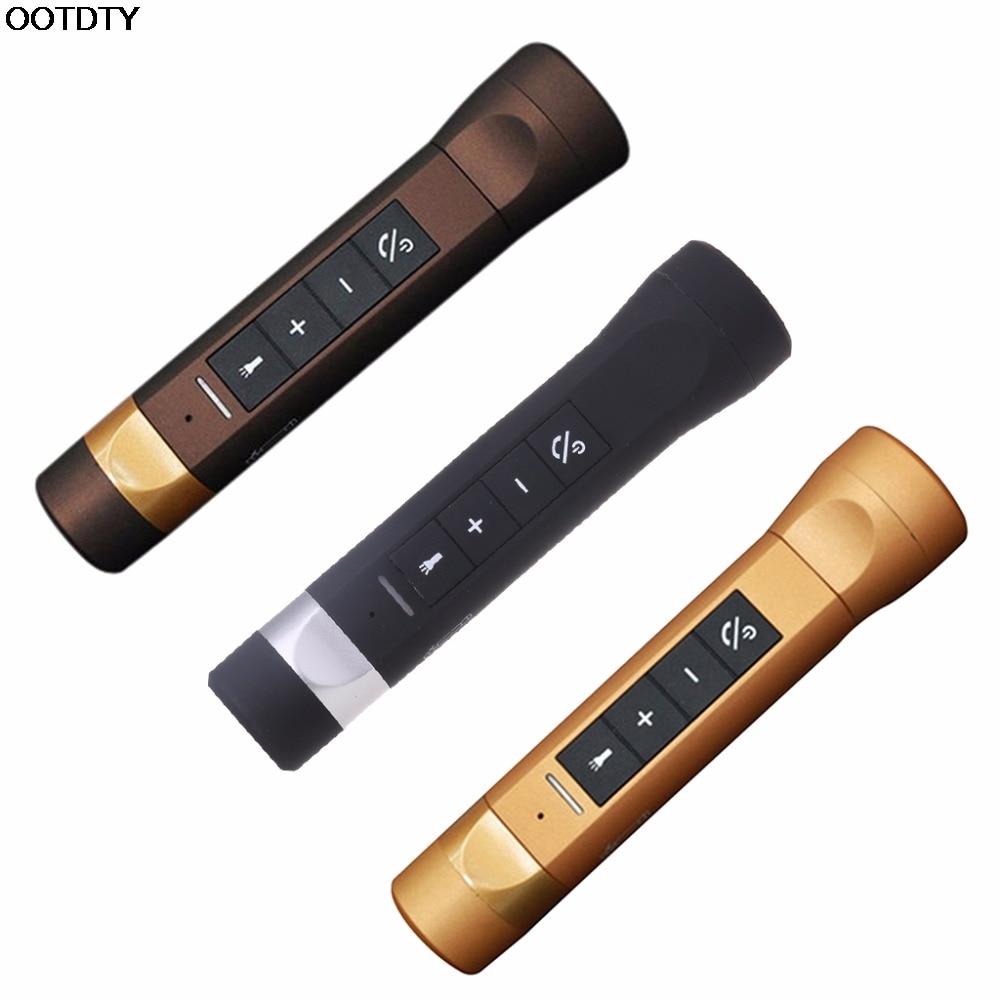 Outdoor Wireless Bluetooth Speaker Flashlight Torch Power Bank Support TF FM - L060 New hot