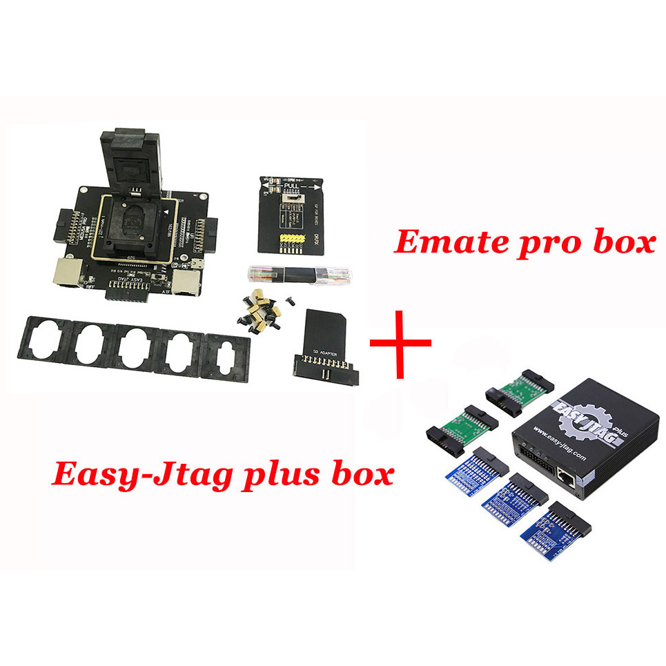 Newest Easy Jtag plus box Easy-Jtag plus +E-mate box Emate pro box E-Socket EMMC TOOL all in 1Newest Easy Jtag plus box Easy-Jtag plus +E-mate box Emate pro box E-Socket EMMC TOOL all in 1