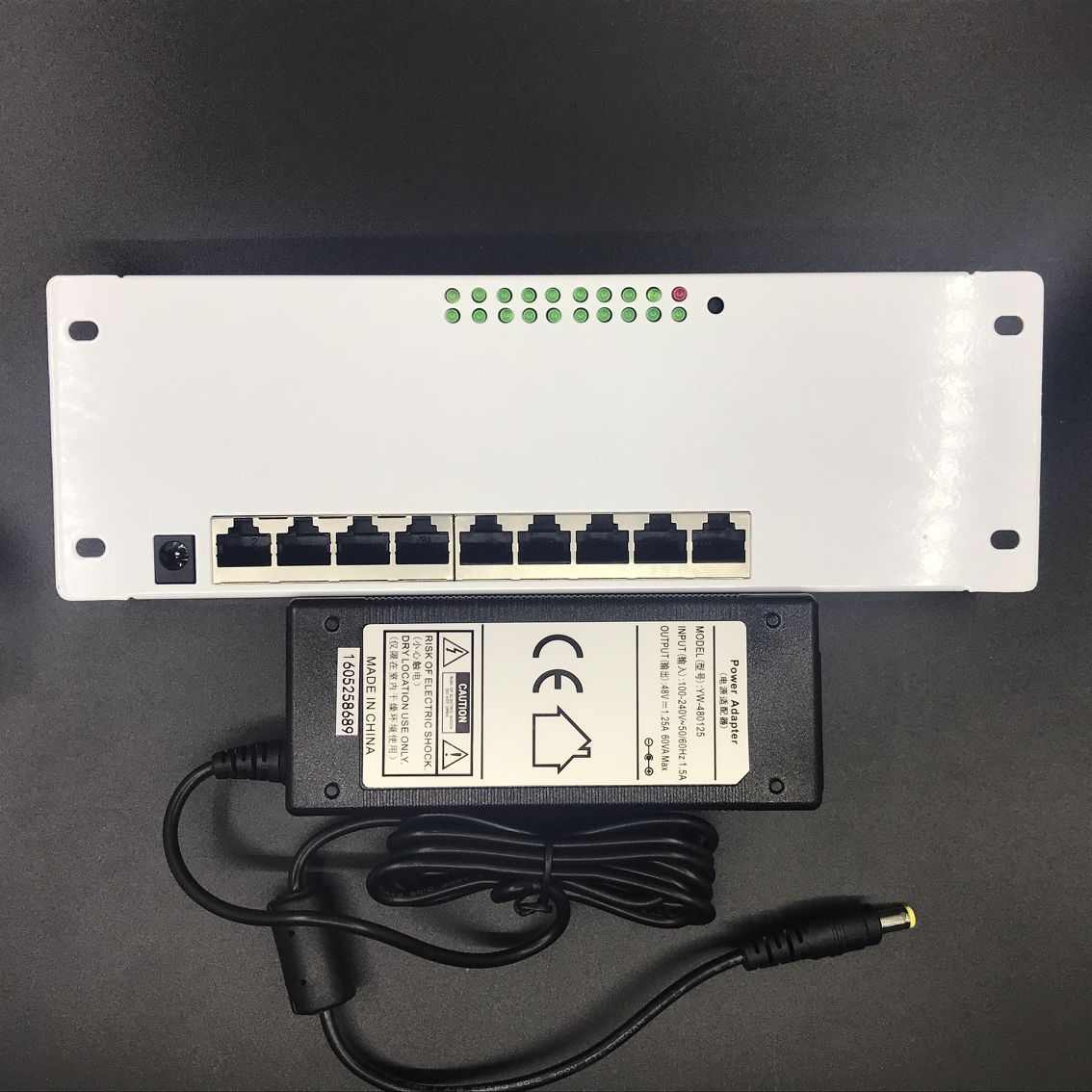 ANDDEAR 9 port POE router module manufacturer t sell  full Gigabit 10/100/1000M POE 48V2A router modules OEM wired router module 5