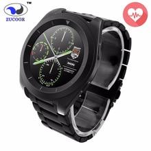 Smart Wrist Watch Wristwatch ZW35 Heart Rate Monitor Bluetooth Reloj Inteligente Pedometer Fitness Tracker For iOS Android Men