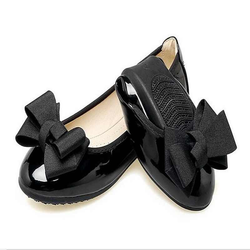 Zhengpinjiaren Sweet Busur Lembut Bawah Sepatu Nyaman Sepatu Datar Sepatu Sendok Sepatu Size34-43 #