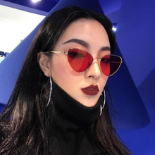 XIWANG Sunglasses Women New Style Polarized Light Cat Eye Metal Ocean Lens Glasses Men And Retro Fashionable