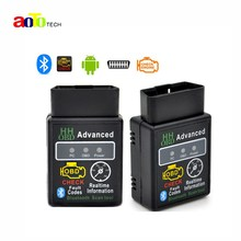 2016 Hot Auto Car ELM327 HH Bluetooth OBD 2 OBD II Diagnostic Scan Tool elm 327 Scanner free shipping