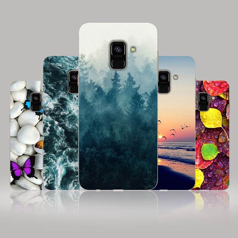 A6 A6+ For Samsung Galaxy A6 2018 Case Silicon SM A600 A600F Soft Tpu Phone Back For Samsung A6 Plus 2018 Case A605 A605F Bumper
