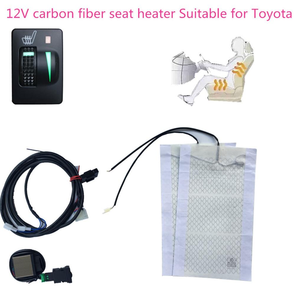 Toyota Rav4 Headlight Wiring Diagram Library Seat Belt Light Upgrade 2 Seats Heated Heater Fit Prado Corolla Rh Aliexpress Com 2003 2010