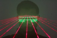 Free Shipping laser LED Glasses Dancing Party glasses Peoperties Stage Girl Magic Glasses for DJ Bar Club Super Shining