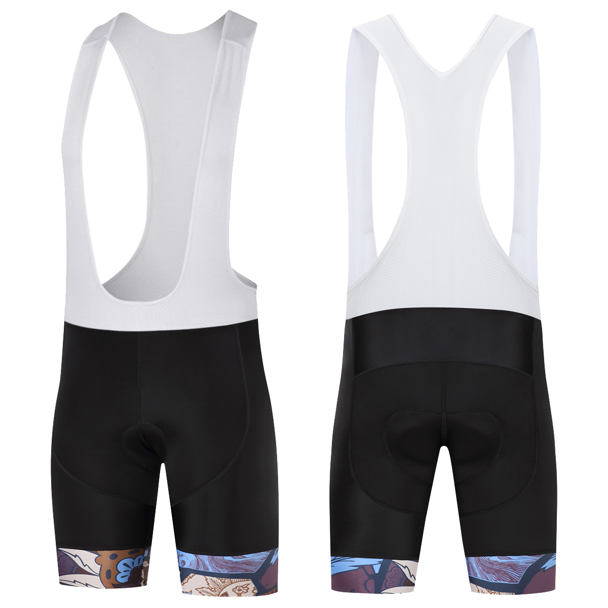 SUREA Men Gel Padded Cycling Shorts Breathable Quick Dry Pro Road Mountain MTB Shorts Culotte Ciclismo Bike Cycling Clothing