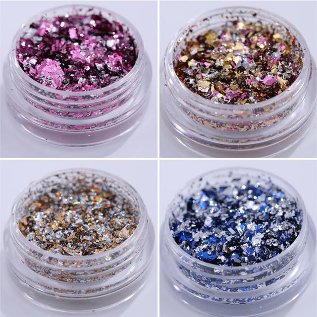 Nail Glitter Sequins Powder Flakes