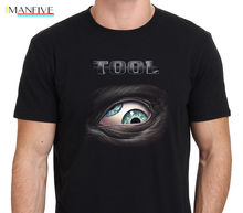 Лучший!  ИНСТРУМЕНТ Lateralus Eye Logo Rock Band мужская черная футболка Размер S-XXXL уличная одежда