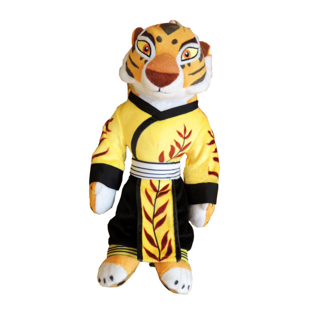 New Style Kung Fu Panda Master Tigress Plush 30cm Tiger Plush Toys