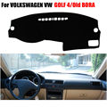 Car dashboard covers For VOLKSWAGEN VW GOLF 4 1997-2003 /Old BORA 2006 years left hand drives dashmat pad dash cover accessories