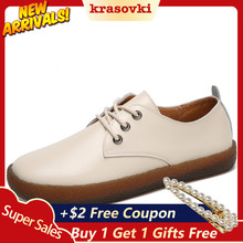 Krasovki Sneaker Women Spring Autumn Flat Bottom Belt Fashion Casual Leather Soft Dropshipping Non Slip Breathable Shoes