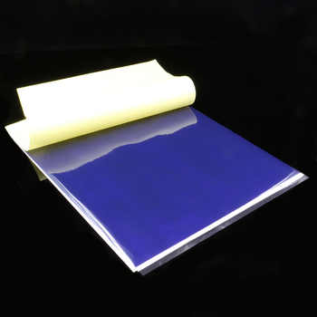 100 Sheets Thermal Tattoo Transfer Paper A4 Size Thermal Stencil Carbon Copier Paper Tattoo Accessories Tattoo Supply