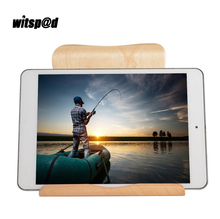 Witsp@d Common Stand for iPad Professional 2017 Pill PC stand holder wooden made for Pill Holder multi perform for Kindle For iPad