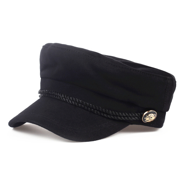 Wool Solid Visor Military...