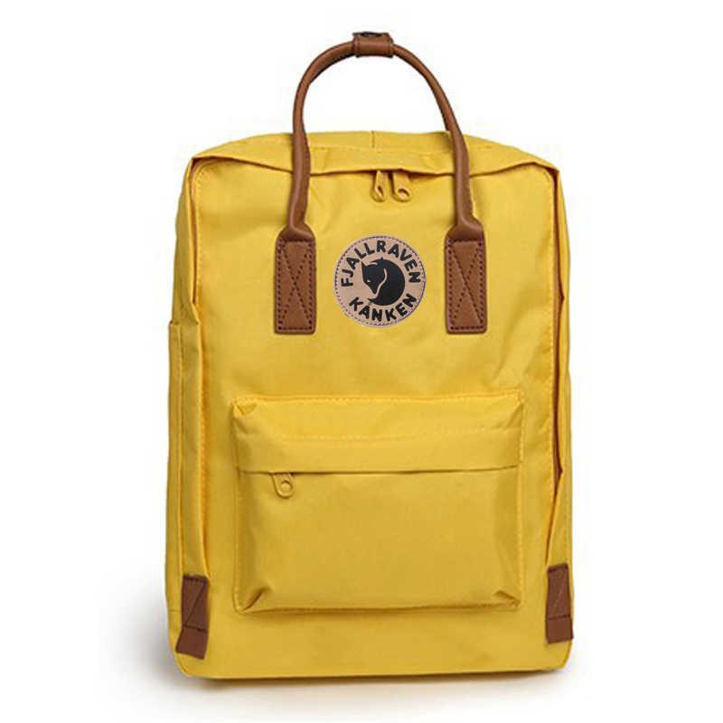 216b1804a Luxury kanken Classic Original Men Women Student Brand Backpack Mochila  Feminina Mujer Travel kanken Schoolbag Mini