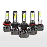 1 Pair LED Headlight Kit H1 H7 H11 9005 9006 H4 Car LED Headlight Bulb CREE 6500K Chip Auto Headlamp Fog Light