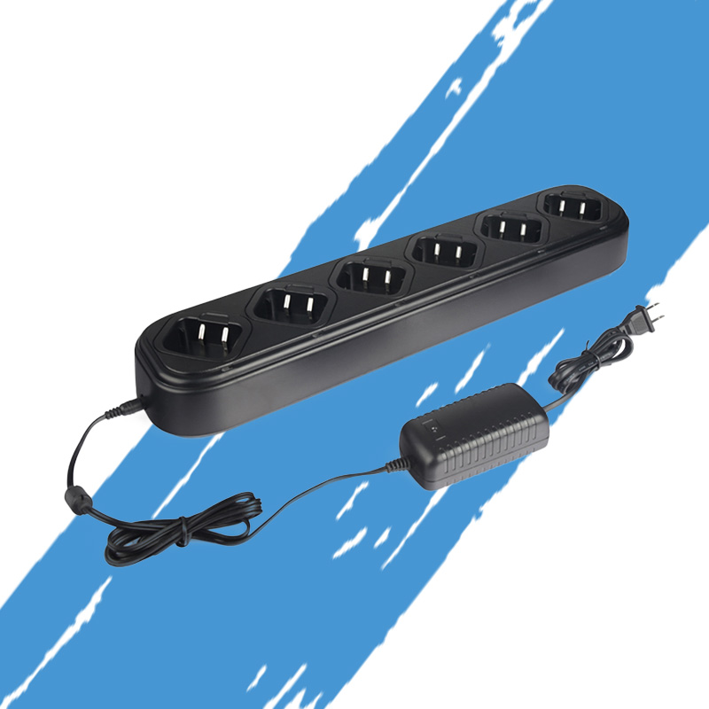 Applicable to Motorola Walkie-Talkie Six-Way Charger Single-Line Universal Charger GP328 / 338/340 HT1250 MTX8250 PRO5150 J6395AApplicable to Motorola Walkie-Talkie Six-Way Charger Single-Line Universal Charger GP328 / 338/340 HT1250 MTX8250 PRO5150 J6395A