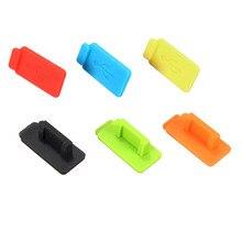 Горячие Стиль 6 Цвет Стандартный Micro USB пыли разъем для крышки Комплектующие для самостоятельной сборки Кепки универсальный для ПК настольных компьютеров и ноутбуков Тетрадь Планшеты