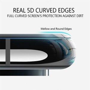 Image 2 - Dla Xiao mi 8 szkło hartowane mofi do xiaomi mi 8 Lite szkło filmowe mi 8 pro pełna osłona ekranu czarny 2 sztuk