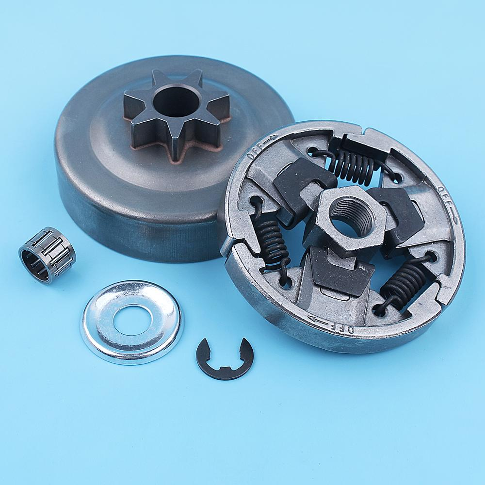 ".325""-7T Spur Sprocket Clutch Drum Kit For Stihl MS270 MS280 MS270C MS280C MS 270 280 Chainsaw Replacement Spare Parts"