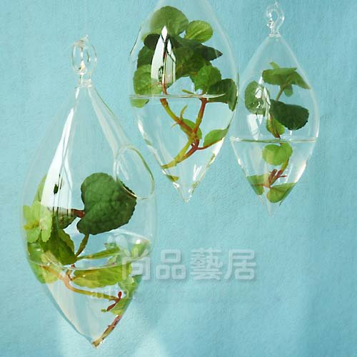 Wholesale EMS Freeshipping European Style Hanging Glass Vase Ceiling  Christmas Decorations