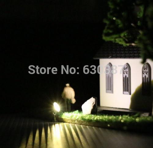 US $16 99 |LYM20 5pcs Model Railway Train Lamp Post Flood Lights HO OO TT  Scale LEDs NEW-in Model Building Kits from Toys & Hobbies on Aliexpress com