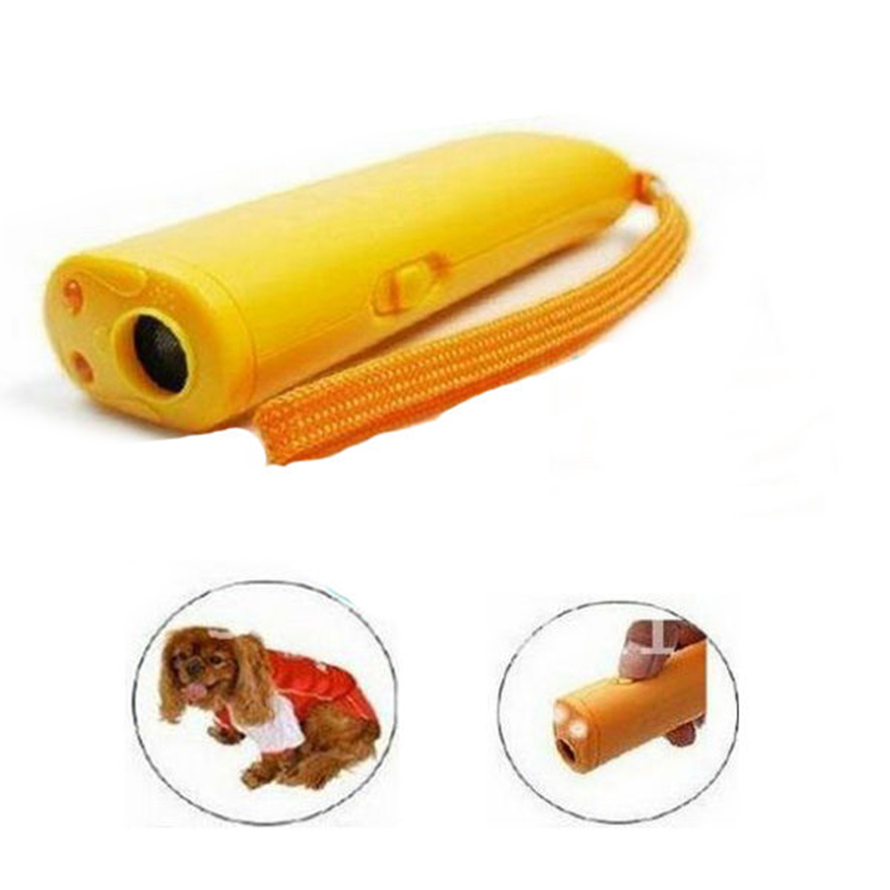 TINGHAO Ultrasonic Aggressive Dog Pet Repeller Training Aid Stop Anti Barking Device