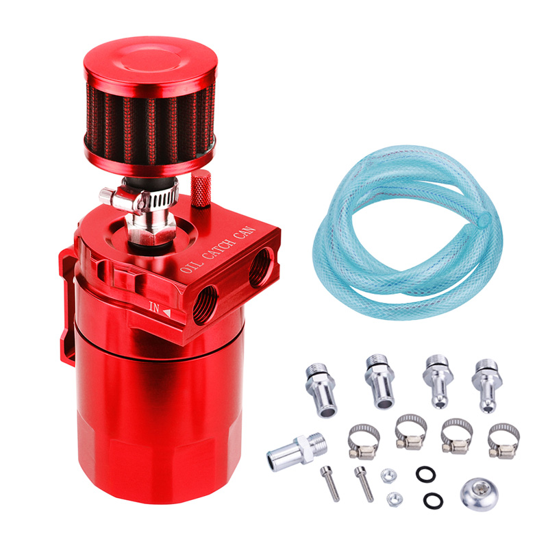 Accessoires de bouilloire respirante à l'huile générale modifiée pour voiture séparateur d'huile et de gaz pot de filtre à huile pot de filtre d'admission secondaire