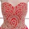 Short Prom Dresses Erosebridal Red Chiffon Formal Women Party Wear Gold Appliques Bodice Lace Up Back Vestido De Festa 4