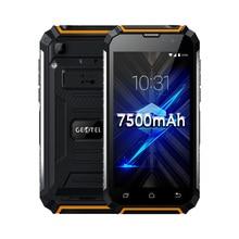 Geotel G1 5 «3 г WCDMA Andriod 7.0 сотовый телефон 2 ГБ Оперативная память 16 ГБ Встроенная память 8MP Камера MTK6580A Quad Core Смартфон 7500 мАч PowerBank Батарея