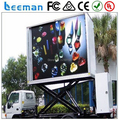 Leeman led tv billboard of P12 2RGB outdoor mobile screen tv video truck mounted led billboard P10 Truck Bus Taxi Led Display