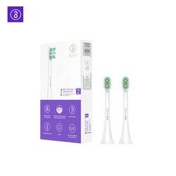 SOOCAS X3 X1MINI глубокой очистки сменные головки Soocare замена головки чистой Тип Зубная щётка головы для Xiaomi